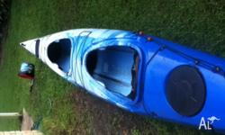Great two seater polyurethane kayak. in great condition