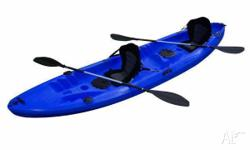 Find Explorer Double Touring Kayak Blue with-2 Seats &