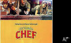 CHEF - DOUBLE MOVIE PASS (ADMITS 2) Starring Jon