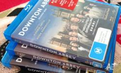 These 11 blu ray discs have been viewed once and a
