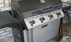 hi three i have for sale a 4 burner bbq with a side