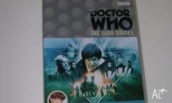 TWO DR WHO DVDS THAT HAVE BEEN WATCHED BUT ARE STILL IN