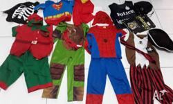 Assorted boy's dress up clothes. $20 for lot. Suits