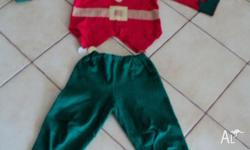 Dressup set: ELF, fit approx 3 - 4 yo. $ 10. To see my