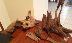Drift wood , great fish tank ornament. Quite a rare