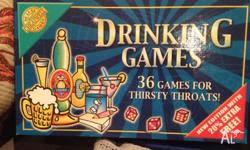 Drinking games- 36 games for thirsty throats. Game has