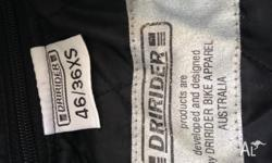 Dririder motorcycle jacket - used but in good
