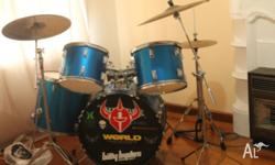 Drum Kit, selling in used but good condition. Purchased