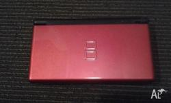 DS - Nintendo. Red. Used only a handfull of times.