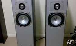 For sale is a pair of DTX Tower speakers. Speakers are