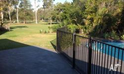 3 bed house with inground pool, large undercover