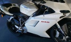 FOR SALE: DUCATI 848, 2009 MODEL BIKE, GOOD TYRES, GOOD