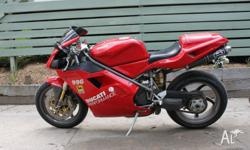 I have for sale my Ducati 996H2. New fork seals,
