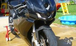 I am selling my black 2005 Ducati 999 I have had her