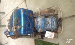 Diesel motor, for a boat 2 cylinder, air cooled Ducati
