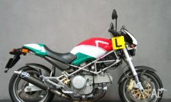 DUCATI,MONSTER,2002, Red White Green Ltd Edition, ROAD,