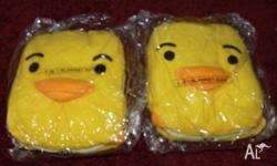 2 BRAND NEW DUCKY BLANKETS FOR $8 EACH WOULD MAKE A