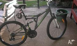 "CRANE DUEL SUSPENION MOUNTAIN BIKE 26"" (66 cm) MENS &"