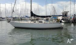 34 ft Duncanson cruising / racing yacht. This yacht has