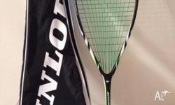 I am selling my Dunlop Biometric squash racquet with