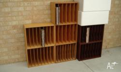 Heaps of music storage options. DVD - 1 x 48 DVD's, 3 x