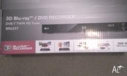Brand new still in box BR625T LG 3D/2D Blu-Ray/DVD/HDD