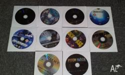 I have the following original DVD's for sale. All come