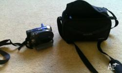 near new DVD handycam bag charger 2 battery packs AV