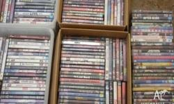 Hi, for sale are over 170 DVDs please see photos for