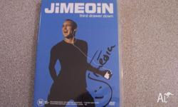 DVD - Jimeoin - Third drawer down - cover signed $10
