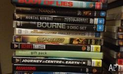 Mix of movies DVDs 41 movies, seeking a pack, $100 the
