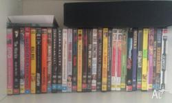 A great mix of DVDs. Both movies and tv series