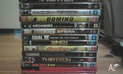 14 dvd movies for $30 ono: 1. The Fighter 2. Taxi