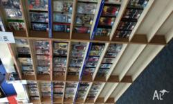 Huge range of dvd's over 10000 dvd's to choose from