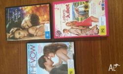 The Vow, The Traveller's Wife and Letters to Juliet $10