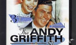 DVD - The Andy Griffith Show Volume 1 - 5 Synopsis: The