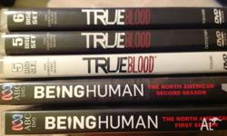 True Blood seasons 1, 2 & 3 ($10 each or $25 for all)