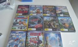 BRAND NEW, PRICE IS PER DVD, WINGS,MADAGASCAR 3, WREAK
