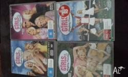 Girls next door seasons 1-4 Great condition used once