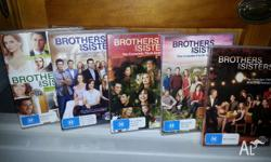 Brothers and sisters with Sally Fields season 1 to 5