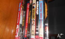 Dvds for sale- See titles listed. Make an offer for