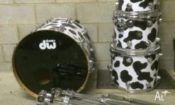 For sale is this used DW Collectors Series Drum Kit in