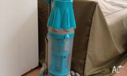 Blue Dyson DC07 upright vacuum cleaner. Bought in the