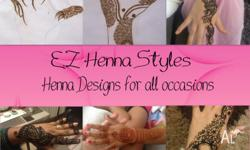 - professional henna services. can do Indian and Arabic