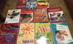 11 text books in excellent condition worth $880.