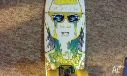 Completely assembled and ready to ride. Board