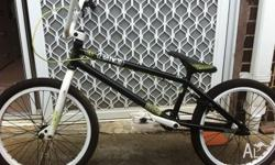 Selling my Black, White and Green Eastern Jane BMX