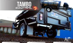 MODEL EZOR: Camper Trailer with MT230 Tent Package