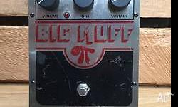 Great Condition Big Muff true bypass version. We are a