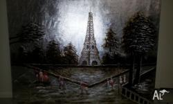 Lovely piece of Art for all the Eiffel Tower lovers!!!